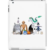 Ghibli Friends  iPad Case/Skin