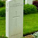 Known unto God, Thiepval memorial, France by Norman Repacholi