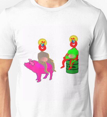 John and his alter egos Unisex T-Shirt