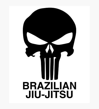 Brazilian Jiu-Jitsu (BJJ) Photographic Print