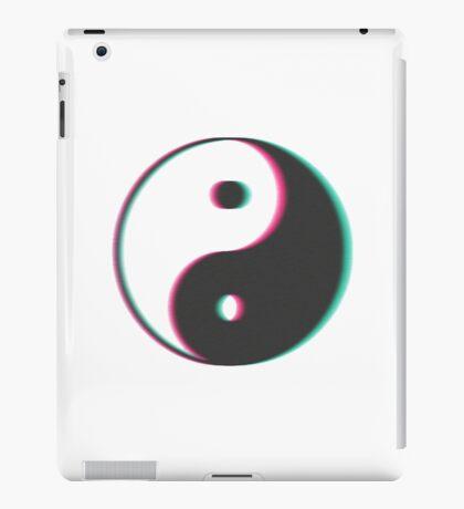 YinYang Transparent Tumblr Style iPad Case/Skin