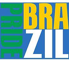 BRAZIL-PRIDE Photographic Print