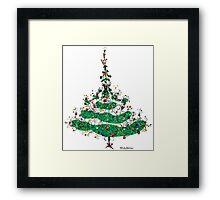 Christmas Dress Framed Print