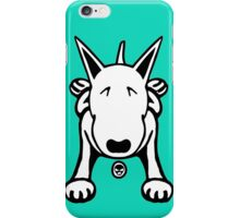 Cartoon English Bull Terrier Sprawl Tee  iPhone Case/Skin