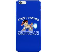 Street Fighting Shotokan iPhone Case/Skin