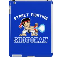 Street Fighting Shotokan iPad Case/Skin