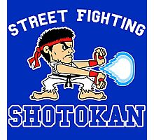 Street Fighting Shotokan Photographic Print