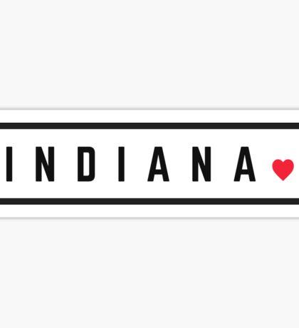 Indiana #2 Sticker