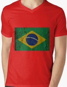 BRAZIL-2 Mens V-Neck T-Shirt