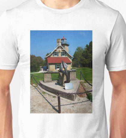 Eagle Bluff Lighthouse, Wisconsin Unisex T-Shirt