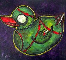 Zombie duck by Sqweek