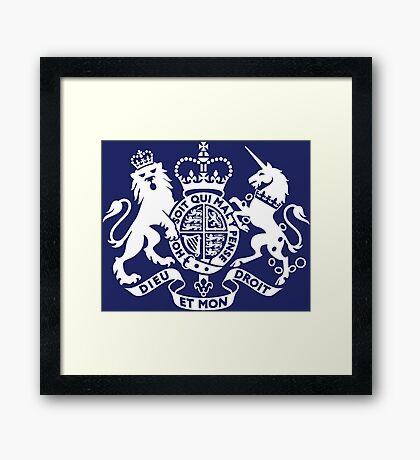 BRITAIN-2 Framed Print