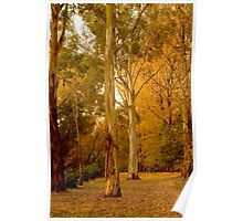 Bright in Autumn Poster