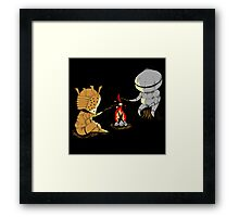 Bonfire Buddies - Dark Souls Framed Print
