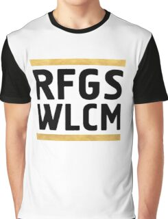 RFGS WLCM - Refugees Welcome Graphic T-Shirt