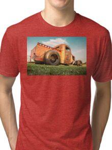 Rat Rod truck Tri-blend T-Shirt