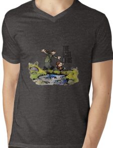 THE LAST OF US Mens V-Neck T-Shirt