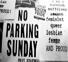 No Parking by Ellen Turner