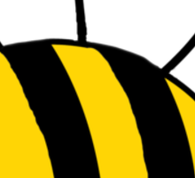 The bee Sticker
