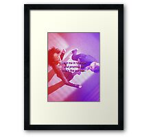 Mer and Cristina - Dancing it out Framed Print