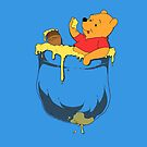 Pocket Pooh by PengewApparel