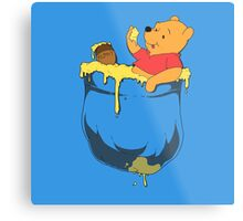 Pocket Pooh Metal Print
