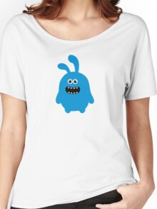 Funny Cute & Crazy Bunny Women's Relaxed Fit T-Shirt