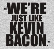 Kevin Bacon GOTG, BLACK by Marissa Suto