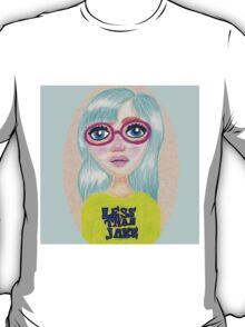 Suzie - Pop Art Girl Portrait Print T-Shirt