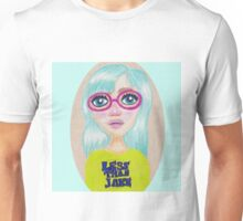 Suzie - Pop Art Girl Portrait Print Unisex T-Shirt