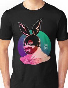 ADAM LIKES BUNNIES - CLUB VERSION Unisex T-Shirt