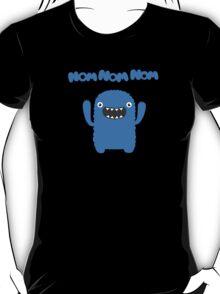 Funny & Cute Om nom nom nom - Monster T-Shirt