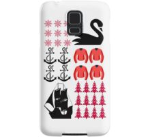 Captain Swan - Ugly Christmas Sweater Samsung Galaxy Case/Skin