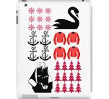 Captain Swan - Ugly Christmas Sweater iPad Case/Skin