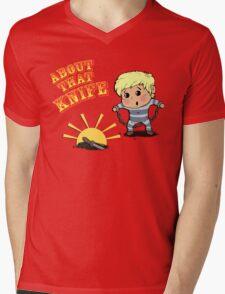 I'M ABOUT THAT KNIFE! Mens V-Neck T-Shirt
