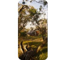 Wallace's Hut - Framed by trees iPhone Case/Skin