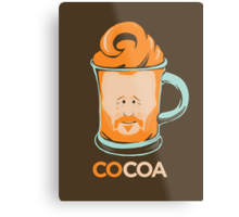 COCOA Hot COCO Conan Art Metal Print
