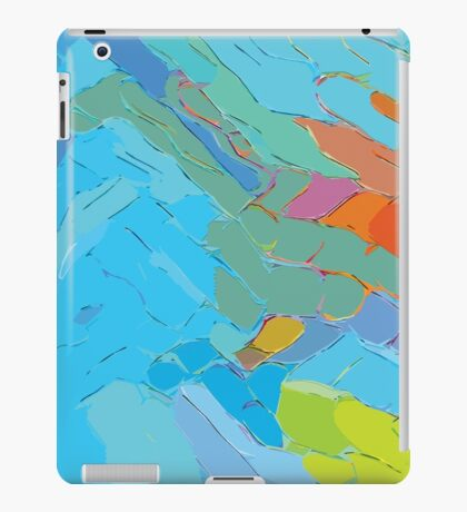 Contoured Abstraction iPad Case/Skin