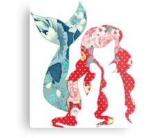 Floral Ariel Metal Print