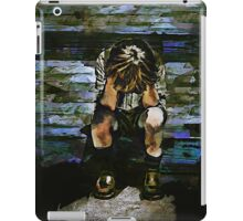 Forecast - Sad Boy Portrait iPad Case/Skin