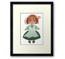 Chibitalia Framed Print