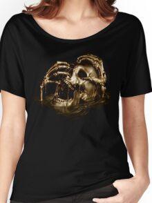 Black Sails Golden Skull Women's Relaxed Fit T-Shirt
