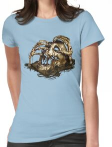 Black Sails Golden Skull Womens Fitted T-Shirt