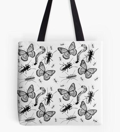 Arthropods In Black Tote Bag
