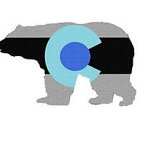 Colorado Bear (Invert) by bleastudios