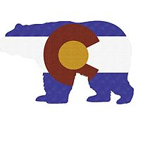 Colorado Bear (Textured) by bleastudios