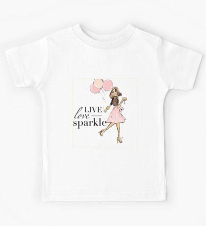 Born to Sparkle Kids Tee