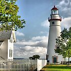 Lighthouses of Ohio by Monnie Ryan