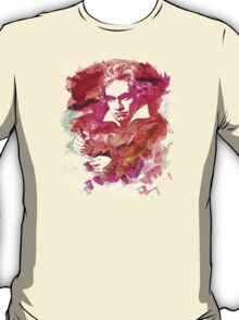 Ludwig van Beethoven Watercolor Remix  T-Shirt