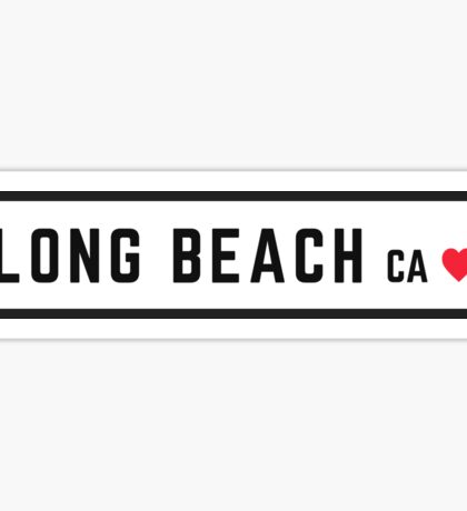 Long Beach CA #2 Sticker